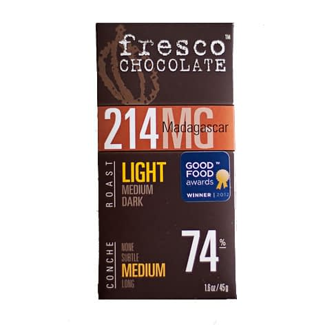 Fresco 214 Madagascar 74% (Carton of 12)
