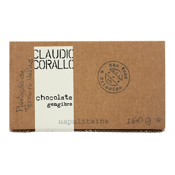 Claudio Corallo 70% with Crystallized Ginger