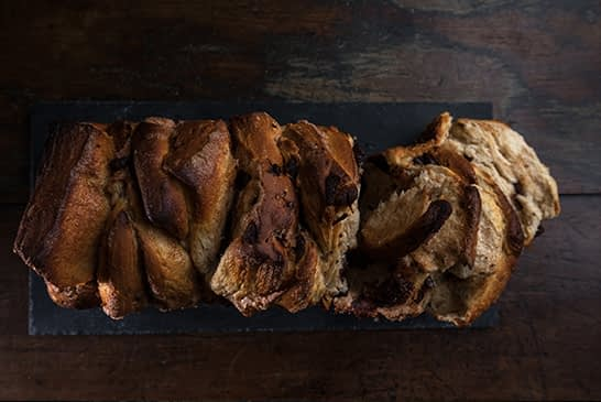 Tear & Share Chocolate Cinnamon Loaf
