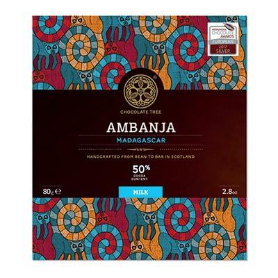 Chocolate Tree - 50% Ambanja Madagascar Milk Chocolate