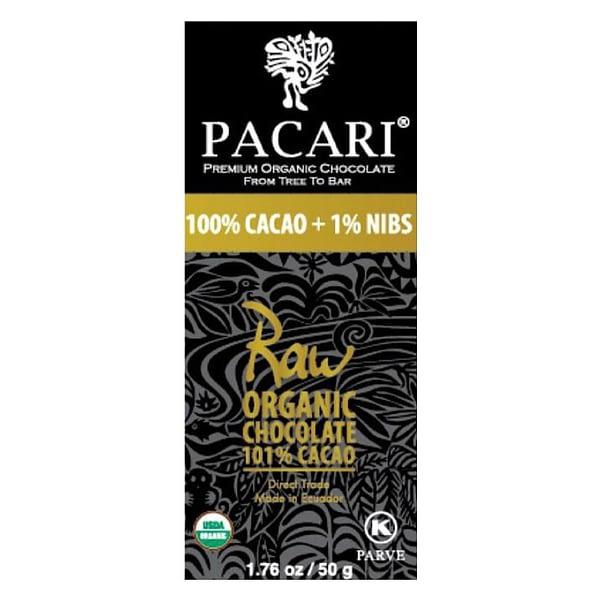 Pacari Raw (unroasted) 101%