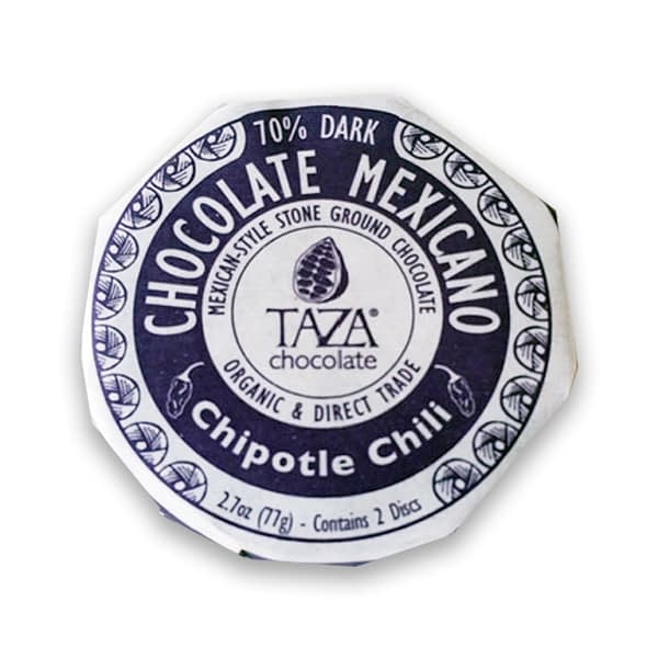 Taza Chocolate Mexicano Chipotle Chili