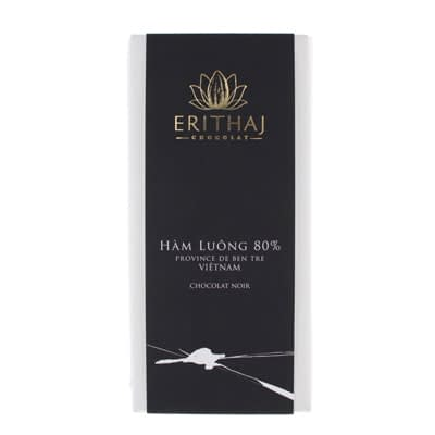 Erithaj - Ham Luong 80% Dark Chocolate