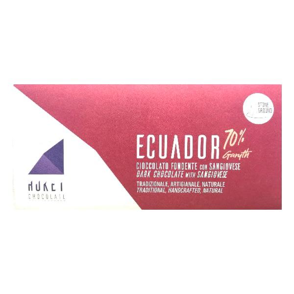 Ruket - Ecuador Dark 72% Chocolate with Sangiovese Infusion