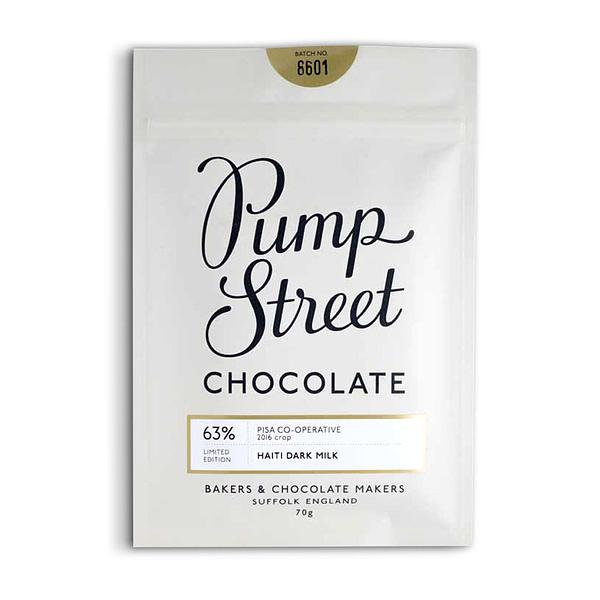 Pump Street - Pisa Co-Operative, Haiti 63% Milk