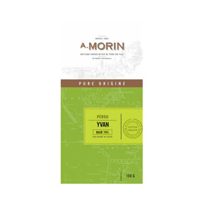 Morin - Peru Yvan 70% Dark Chocolate