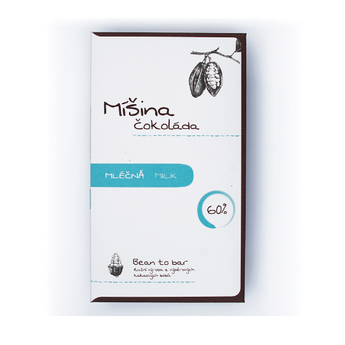 Mišina Čokoláda - 60% Dark Milk Chocolate