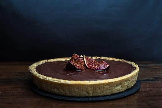 Chocolate Fig Tart