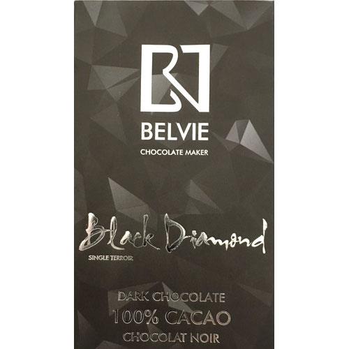 Belvie - 100% Black Diamond Dark Chocolate