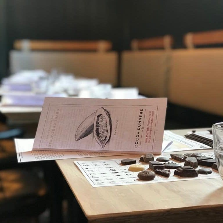 A Cocoa Runners Chocolate Tasting Evening, 31st January 2020, 7pm