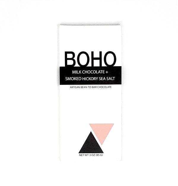 Boho - Milk Chocolate with Smoked Hickory Salt