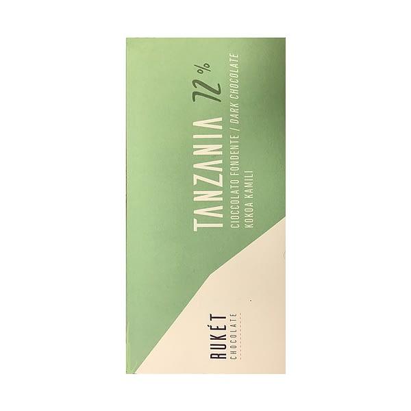 Ruket - Tanzania Kokoa Kamili 72% Dark Chocolate With Nibs