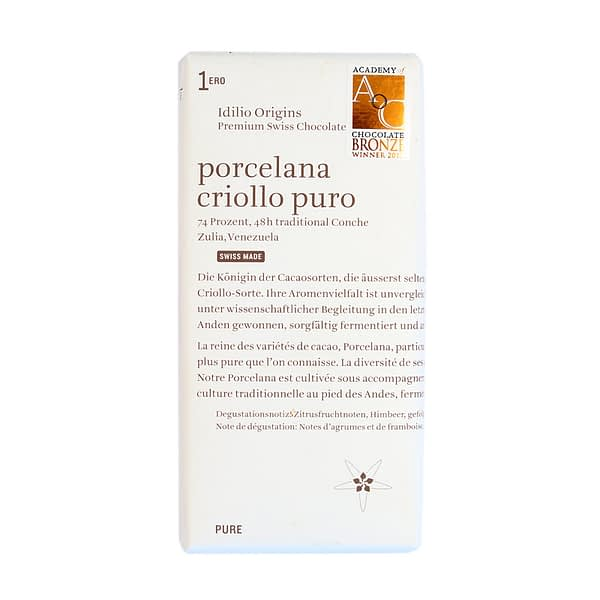 Idilio Origins Porcelana Criollo Puro