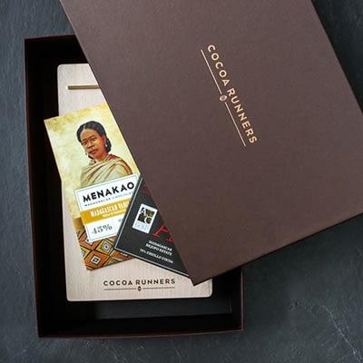 Craft Chocolate Sharing Board