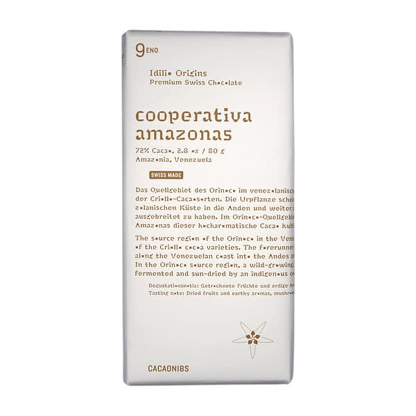 Idilio Origins Cooperative Amazonas Cacaonibs