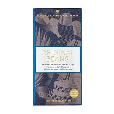 Original Beans - Colombia Arhuaco Businchari 82% Dark Chocolate