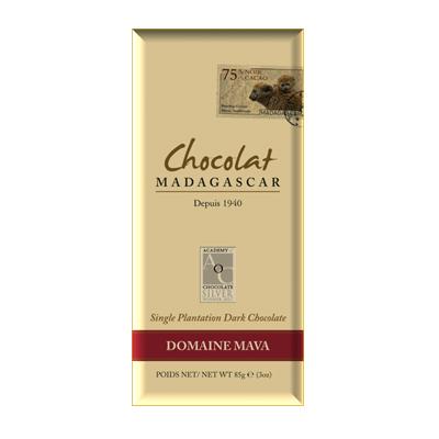 Chocolat Madagascar - Domaine de Mava 75%
