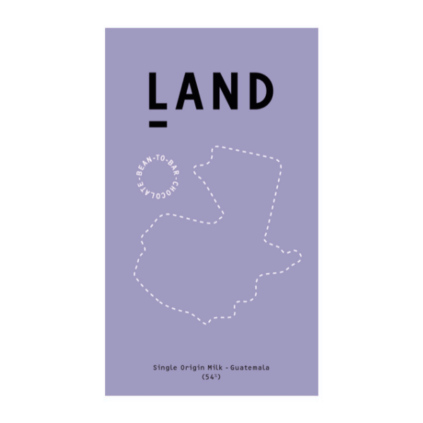 Land - 54% Guatemalan Milk Chocolate