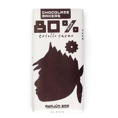 Chocolate Makers Awajún Peru Criollo 80%