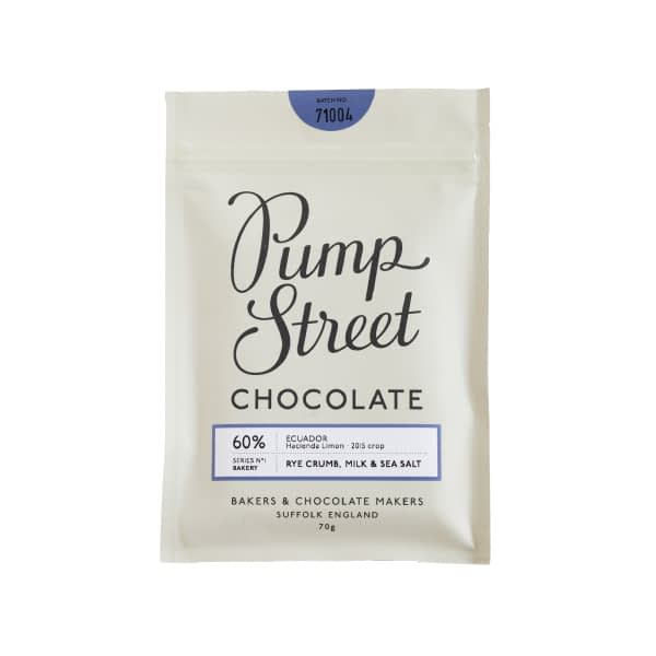 Pump Street Bakery - Rye Crumb, Milk & Sea Salt 60%