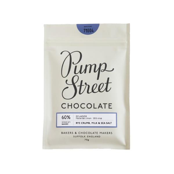 Pump Street Bakery - Rye Crumb, Milk & Sea Salt 60%