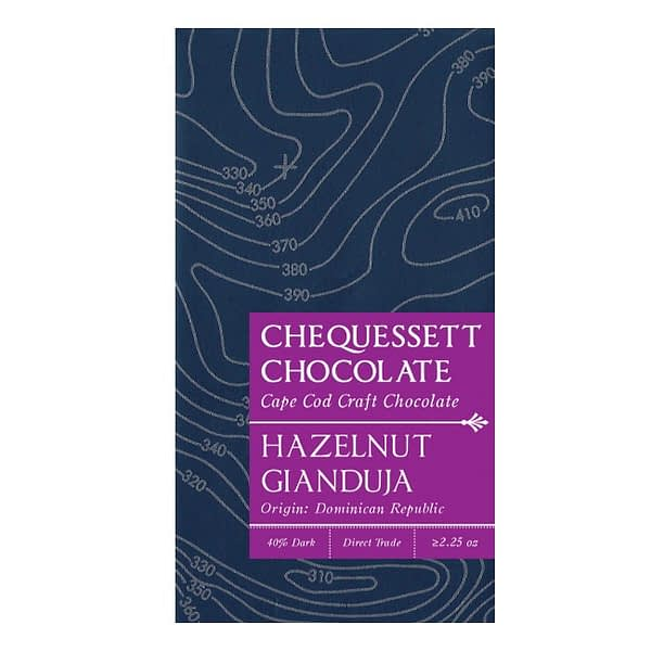 Chequessett - Gianduja, Dominican Republic 40% Chocolate