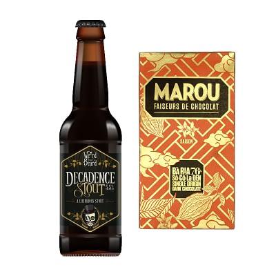 Marou Chocolate and Honest Brew Beer