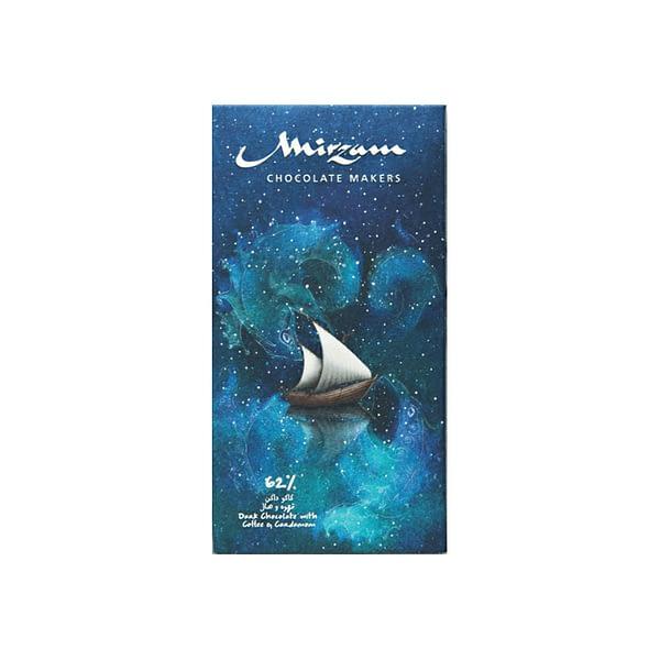 Mirzam - Coffee & Cardamom Dark Chocolate 62%