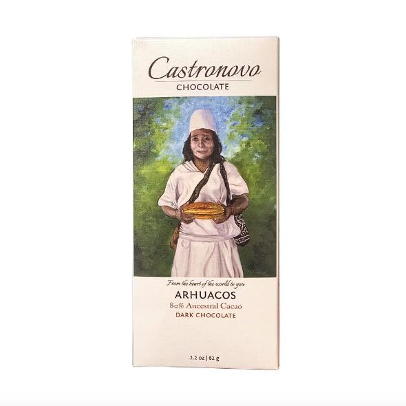 Castronovo - Arhuacos, Colombia 80% Dark Chocolate