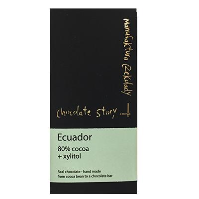 Manufaktura Czekolady Ecuador with Xylitol
