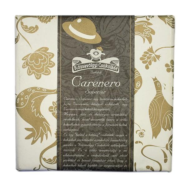 Rózsavölgyi Csokoládé Carenero Superior 73%