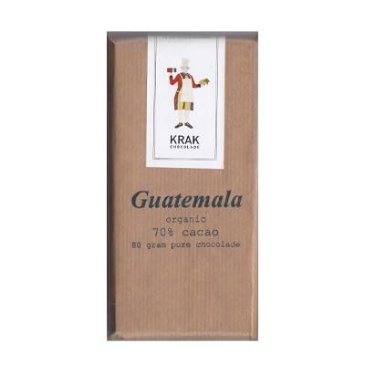 Krak Chocolade - Guatemala 70% Dark Chocolate