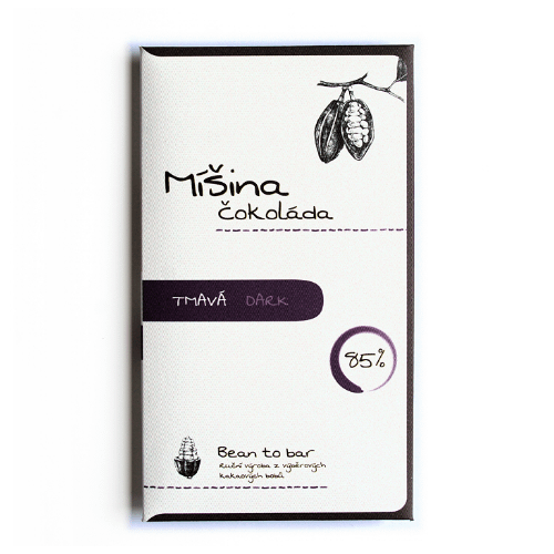 Mišina Čokoláda - 85% Dark Chocolate