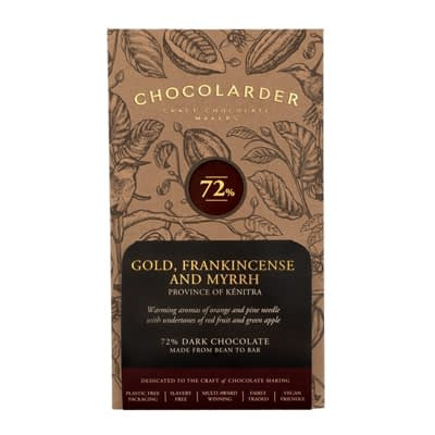 Chocolarder - Gold, Frankincense and Myrrh