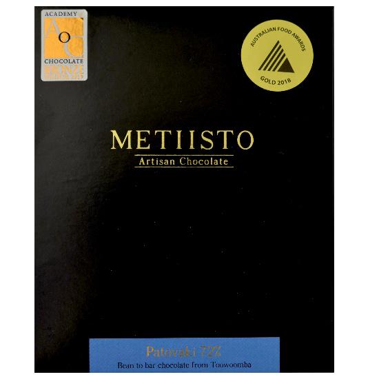 Metiisto - Patovaki 72% Dark Chocolate