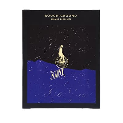 Naive - Ecuador Rough Ground Dark Chocolate Bar
