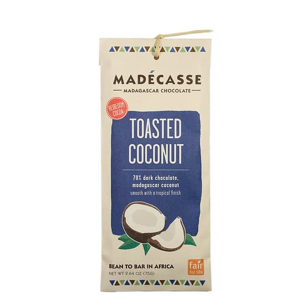 Madecasse Toasted Coconut