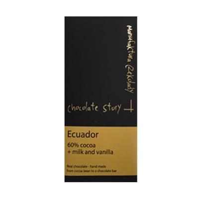 Manufaktura Czekolady Ecuador 60% Dark Milk Chocolate & Vanilla