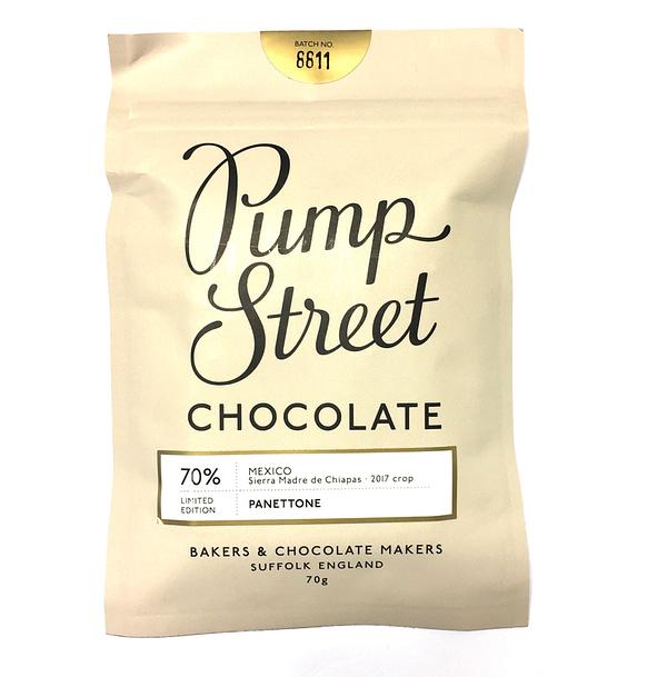 Pump Street Chocolate - Panettone Bar, Mexico 70%