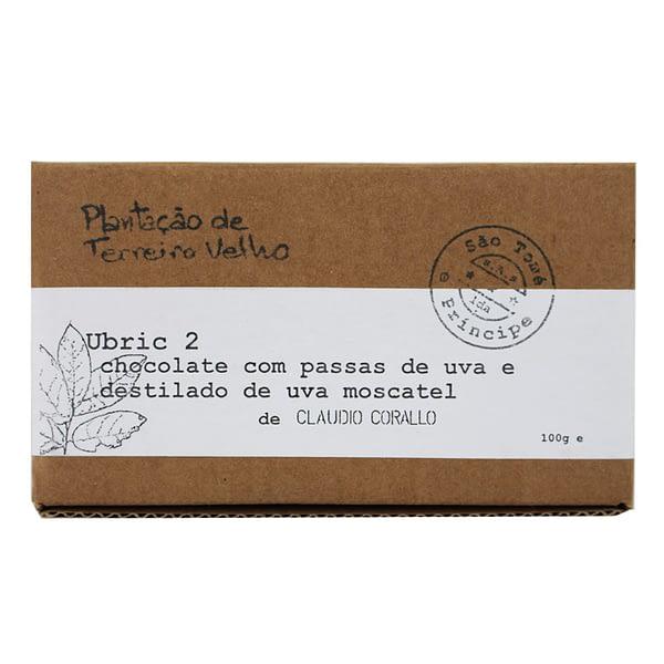 Claudio Corallo - Ubric 2 70% with Raisins in White Muscat Distillate