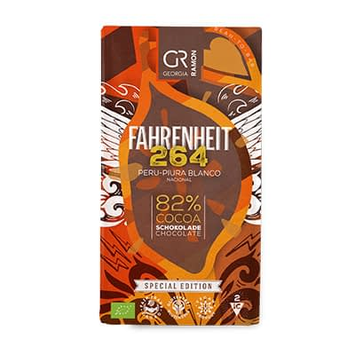Georgia Ramon - Farenheit 264 Peru-Piura Blanco Nacional 82% Dark Chocolate