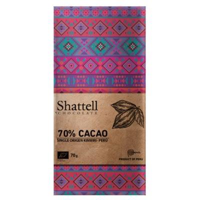 Shattell - Cacao Ayacucho Kimbiri 70%