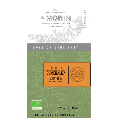 Morin - Esmereldas, Ecuador 48% Milk Chocolate
