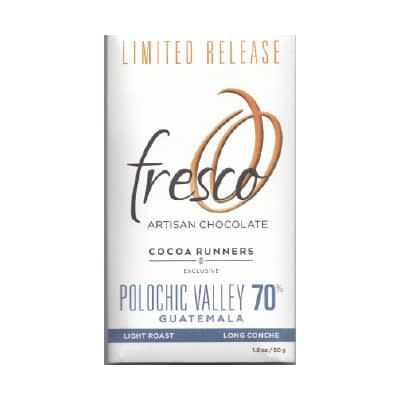 Fresco - Guatemala Polochic Valley 70% Dark Chocolate - Cocoa Runners Exclusive