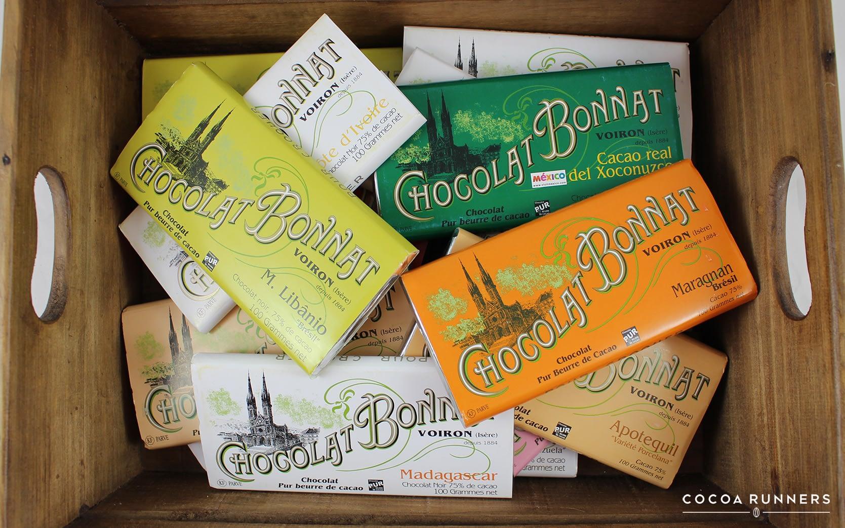 Bonnat Chocolate Bars Crate