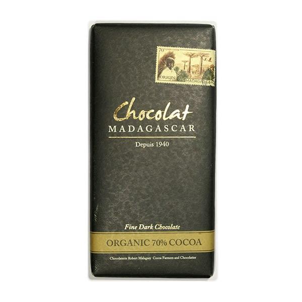 Chocolat Madagascar 70% Organic Dark Chocolate