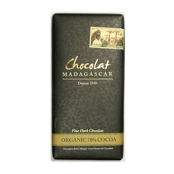 Chocolat Madagascar 70% Organic Dark Chocolate