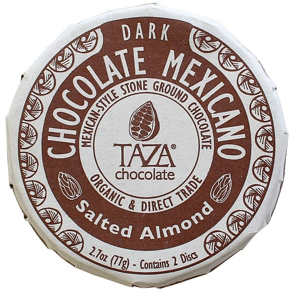Taza Chocolate Mexicano Salted Almond