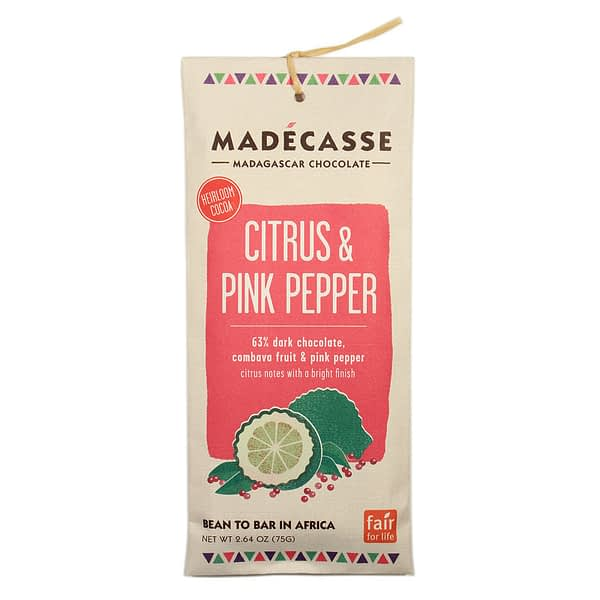 Madecasse Pink Pepper & Citrus
