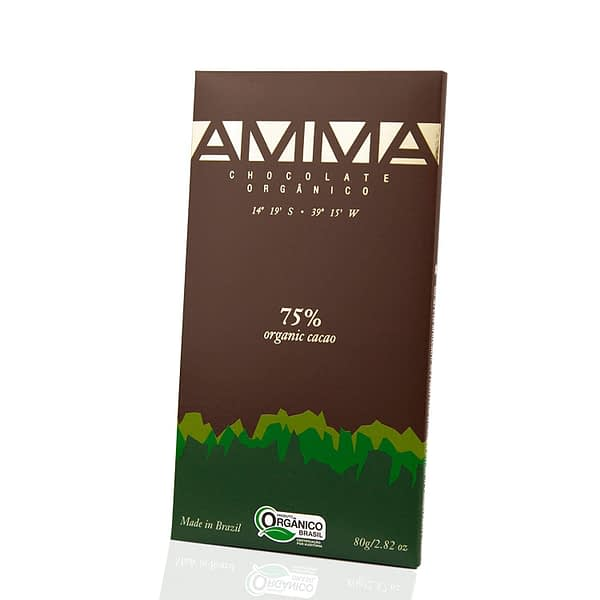 Amma - Bahia, Brazil 75% Dark Chocolate